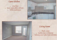 2 bedroom condo steps from the Clareview LRT station.