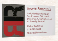Ryan's Removals - Garbage & Junk Removal