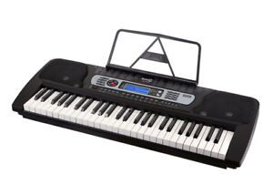 Rock Jam 54 key With LCD screen and double X stand