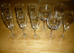 10 Glasses ... as shown .. assorted Cambridge Kitchener Area image 2