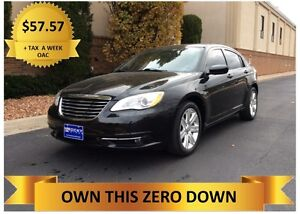 2013 Chrysler 200  ONLY $57.57 +TAX A WEEK - OAC