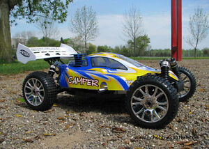 New RC Buggy/Car Nitro Gas 3.5cc Engine 1/8 Scale 4WD 2.4G Kitchener / Waterloo Kitchener Area image 2