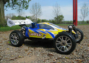 New RC Buggy/Car Nitro Gas 3.5cc Engine 1/8 Scale 4WD 2.4G Kitchener / Waterloo Kitchener Area image 2