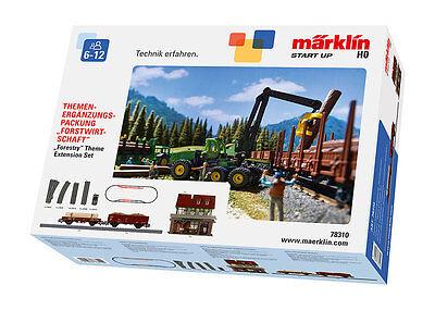 Märklin 78310 Ergänzungset Forstwirtschaft Mit Wagen & Gleise My World Neu & Ovp 0
