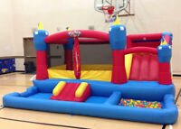 Inflatable Bouncers for Rent by Uber Bounce