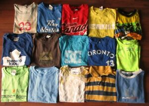 Lot of Boy's clothes Size 8-8T & footwear size 2 youth