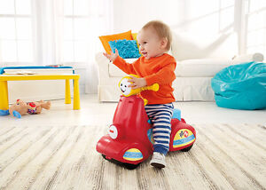 NEW: Assembled Fisher-Price Laugh & Learn Smart Stages Scooter