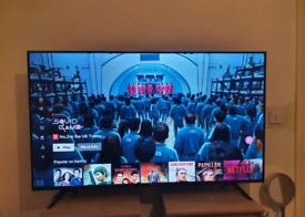"Hisense 55"" smart 4k ultra TV built in freeview/Netflix"
