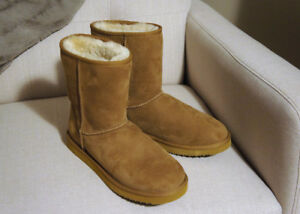 NEW Boots - Suade (Shearling) with Sheepskin (Size 10)