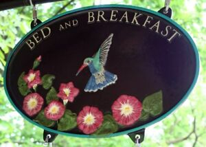 Bed and Breakfast aluminum signs