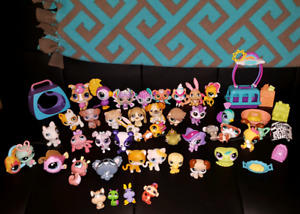 Littlest pet shop lot 40+ pieces
