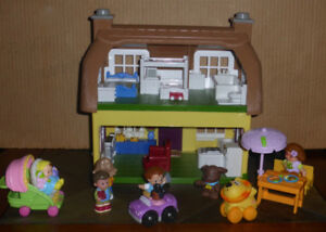 Step 2 Main Street Village Country Cottage Dollhouse