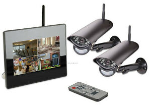 New 2Ch wireless surveillance system