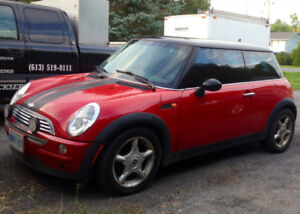 2002 Mini Cooper Coupe 2 Door with Upgraded Exhaust