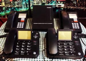 SYSTÈME TÉLÉPHONIQUE-3 LIGNES 8 POSTES TÉLÉPHONES NORTEL - 575$