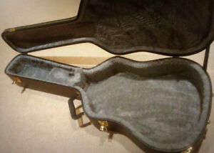 Acoustic Guitar Hard Shell Case - $65
