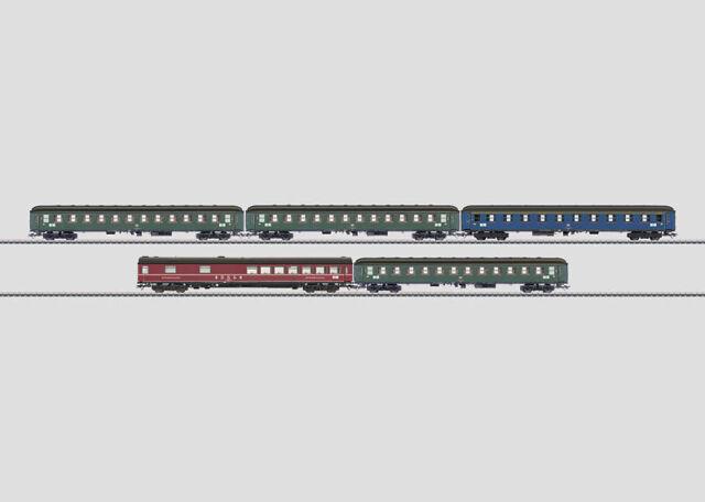 Märklin 43915 Schnellzugwagen-Set der DB 5-teilig #NEU in OVP#