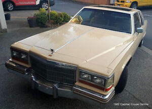1982 Cadillac Coupe DeVille, Custom Low Rider