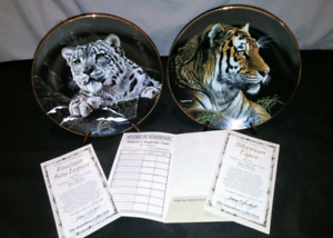 Hamiltion Collection Nature's Majestic Cats C.O.A
