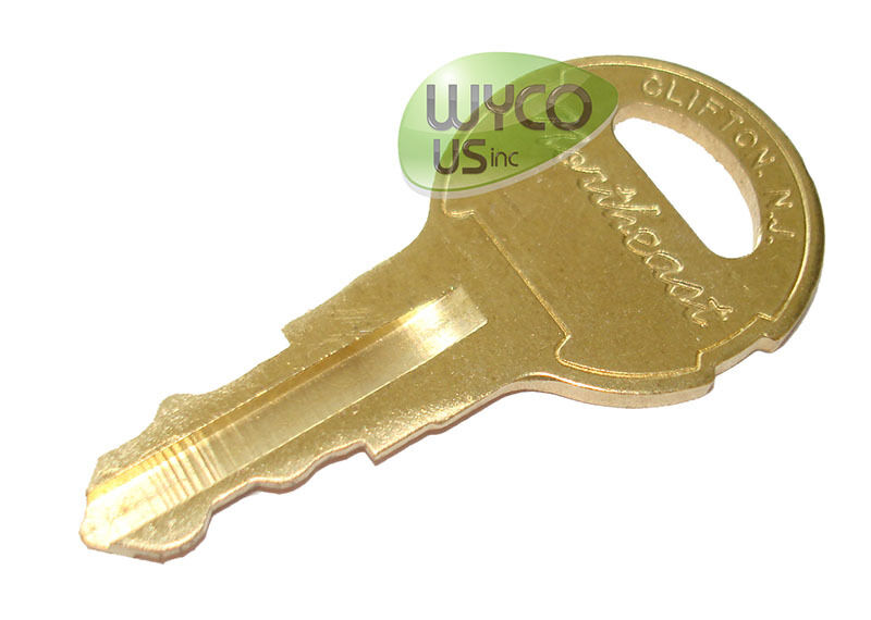 607821,REPLACEMENT KEY, TENNANT 5280, 5500, 5300, 5400 WALK BEHIND SCRUBBERS,3E6