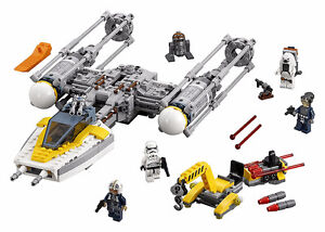 LEGO Star Wars 75172 Y-Wing Starfighter, 100% Complete, Like New