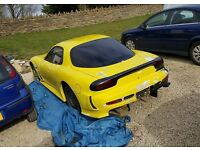 Mazda rx7 fd3s import project v8 turbo supercharger, swap px