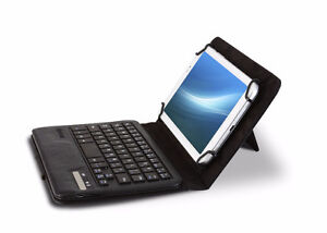 "Hipstreet 7""-8"" Tablet Case w/ Bluetooth Keyboard, New"