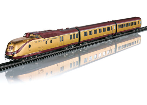 Märklin 37603 Tee Diesel Railcar VT 11.5 DB 7-teilig MFX + and Sound #