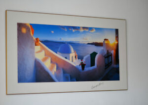 PICTURE of Santorini, Sunset