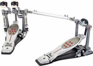 Pearl Eliminator Redline double pedal, chain drive, left/gauchère, à chaîne Neuve dans la boite