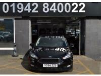 2014 64 FORD FOCUS 1.6 ZETEC TDCI 5D 114 BHP 5DR 6SP ECO S/S DIESEL HATCH, BLACK