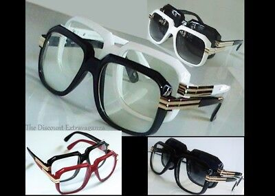2 pack of Glasses _ Nerd Retro 80s Gazelle Style _ Clear and/or Tint Lens