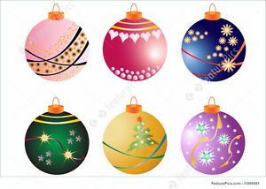 Seeking your no longer required Christmas decorations.