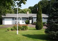 Lovely home w/inground pool, 1 acre private lot close to Parlee