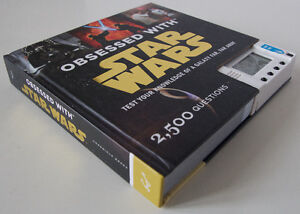 Obsessed with Star Wars Trivia Book – Hardcover Kitchener / Waterloo Kitchener Area image 2