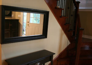 Canadian-made Pine Mirror with Vintage Finish