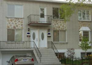 Bas duplex 5 1/2 cour, garage, patio    Lasalle, Lachine, Dorval