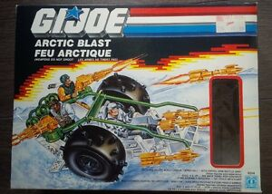 GI Joe Arctic Blast vintage toy complete in box