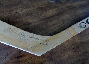Signed mini Hockey Stick