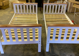 Single bed Frames wooden heavy Duty only £75 each. Rbw Clearance Outle