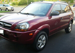 2009 Hyundai Tucson - safetied & e-tested - with winter tires!