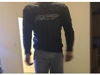 RST leather motorbike jacket