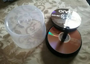 recordable DVDs