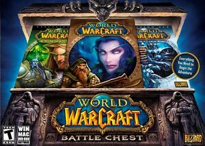 WORLD OF WARCRAFT BATTLECHEST EXCELLENT ÉTAT TAXES INCLUSES