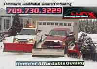 SNOW CLEARING & REMOVAL ÷÷÷÷ Residential + Commercial