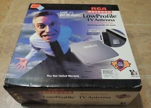 RCA ANT4100X Low Profile Outdoor TV Antenna Brand New In Box