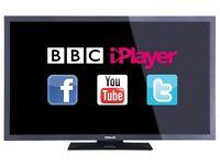 "32"" smart tv linsar Hitachi £100, need quick sale."