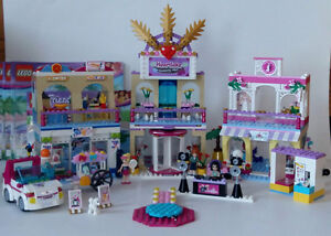 41058 Heartlake Shopping Mall (centre commercial)  Lego FRIENDS
