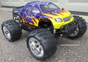 New RC Truck Brushless Electric 1/8 Scale TOP 2 LIPO 4WD RTR Kitchener / Waterloo Kitchener Area image 3