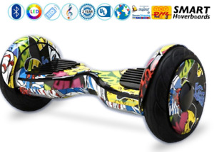 """2017 New 10"""" OFF ROAD Hoverboard  905 665 0305"""